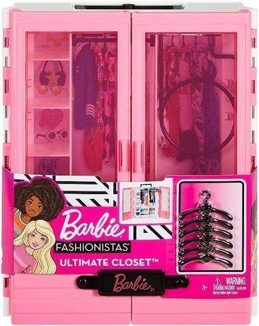 ОРИГИНАЛ! Шкаф для куклы Барби Barbie Fashionistas Ultimate Closet