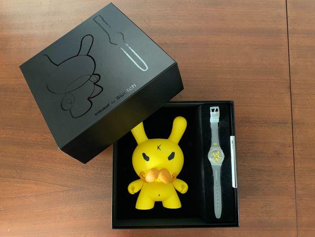 Relógio Swatch Kidrobot NOVO