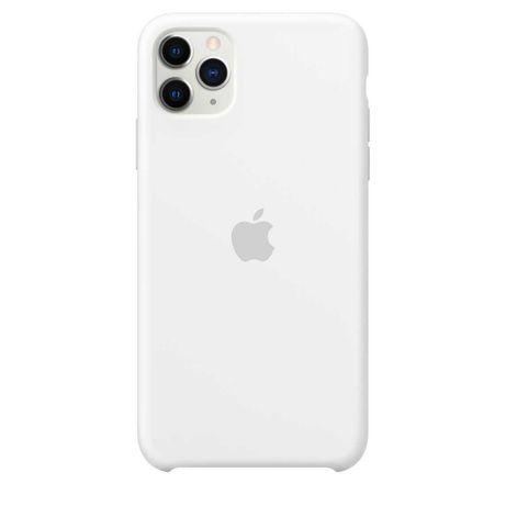 Capa Apple iPhone 11 Pro Max Branca Silicone Original Selada c/ Fatura
