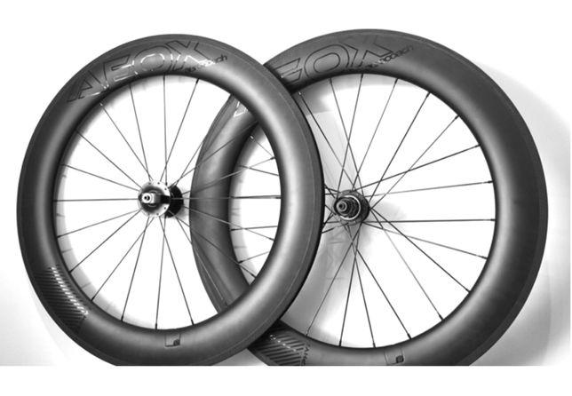 Карбоновые шоссейные колеса AeroCoach AEOX® ZEPHYR aero wheels