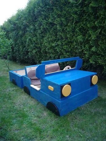 Piaskownica Samochód dla Dzieci, auto,plac zabaw, domek, huśtawka