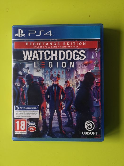 Watch Dogs Legion / Ps4 Upgrade PS5 / PL / Katowice - image 1