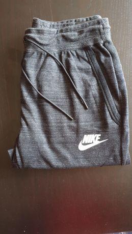 Spodnie dresowe Nike czarny melanż