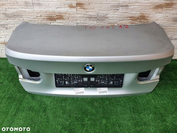 KLAPA TYŁ BMW 3 F30 KOLOR A83