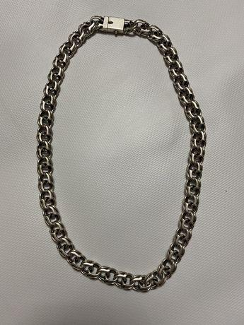 Серебряная мужская цепочка 153 г