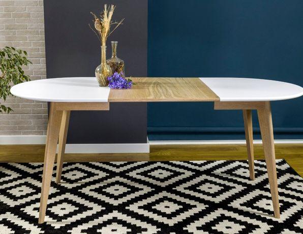 стол обеденный, овальный, раскладной, стіл обідній, Сканди