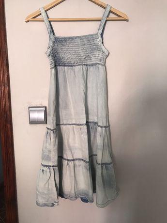 Sukienka jeansowa vintage