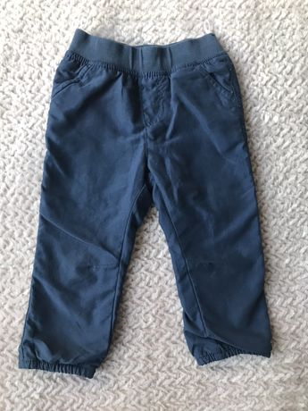Spodnie ocieplane c&a rozm 80