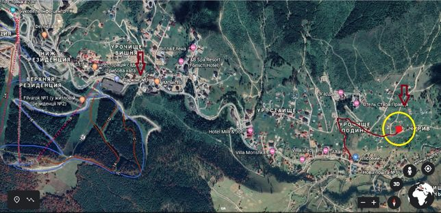 Продам земельну ділянку Буковель площею 0.10 га для будівництва