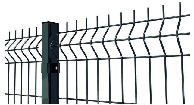 Секційна огорожа Зелений паркан 3D Секционное ограждение Забор