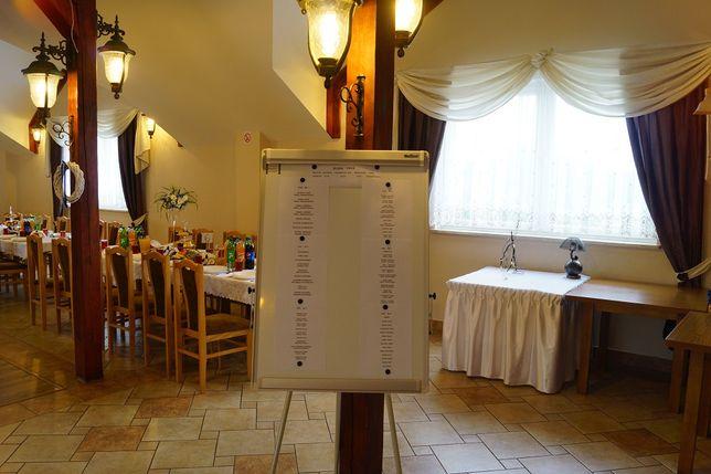 Tablica magnetyczna do rozmieszczenia kart gości wesele wesela