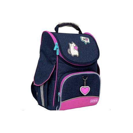 Рюкзак школьный каркасный Kite. Для девочки 1-3 класс. КАЙТ.