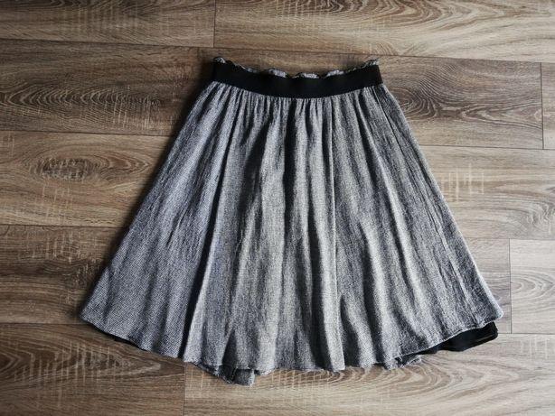 Spódnica w drobną kratkę Zara