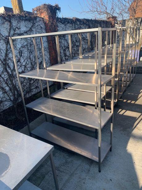 НОВАЯ Мебель из нержавейки: столы, мойки, полки, этажерки, тумбы, тены