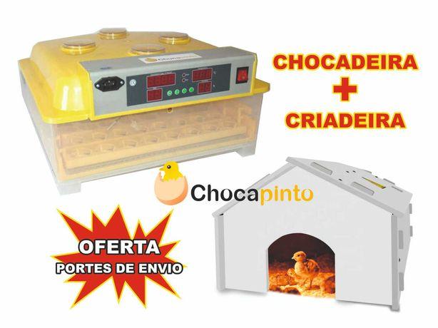 Chocadeira / Incubadora 56 Ovos + Criadeira