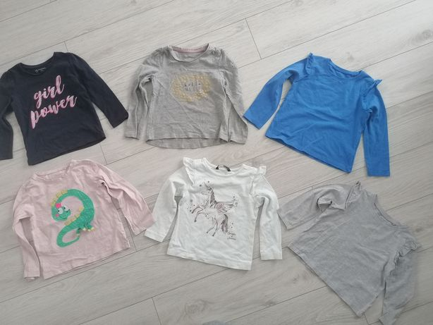 Bluzki bluzy sweterki r. 98