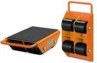 Patins de transporte -Transportadores de rolos - Deslizadores 3 ton