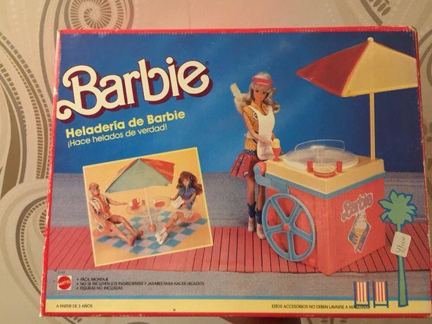 Barbie geladaria - 1988 - Made in Espanha