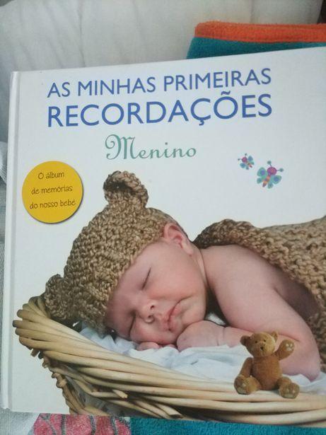 Livro para nascimento menino
