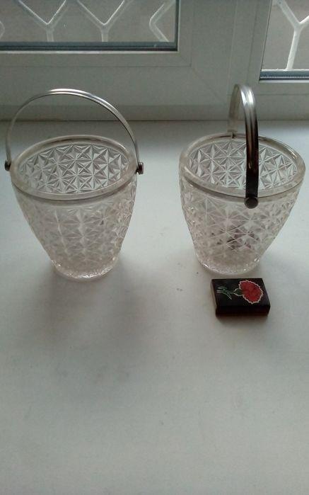 Конфетницы сахарницы из стекла и металла Николаев Жовтневый - изображение 1