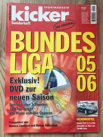 Skarb Kibica Kicker Liga Niemiecka 2005/06