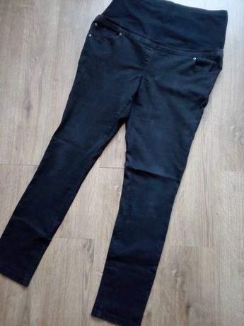 Spodnie czarne ciążowe rozm 42