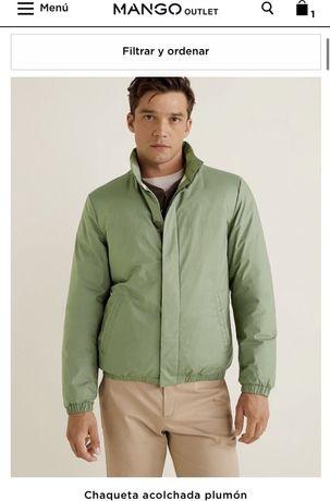 Куртка мужская Mango (утепленная)