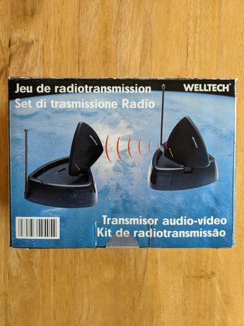 Kit de radiotransmissão audio-vídeo sem fios WELLTECH (NOVO)
