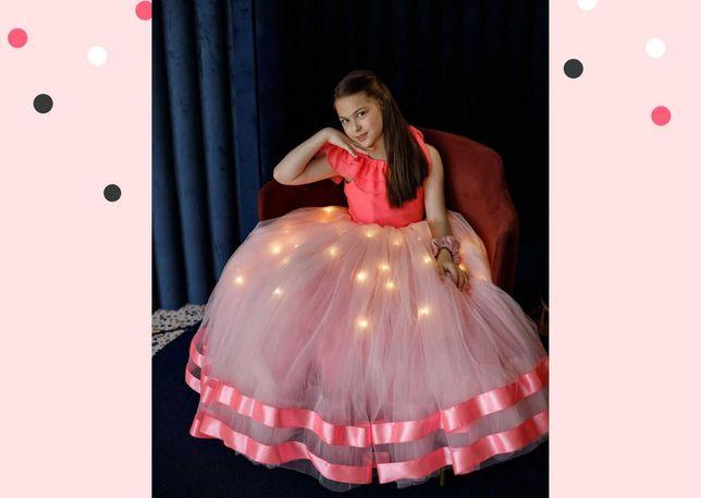 Детское платье с подсветкой