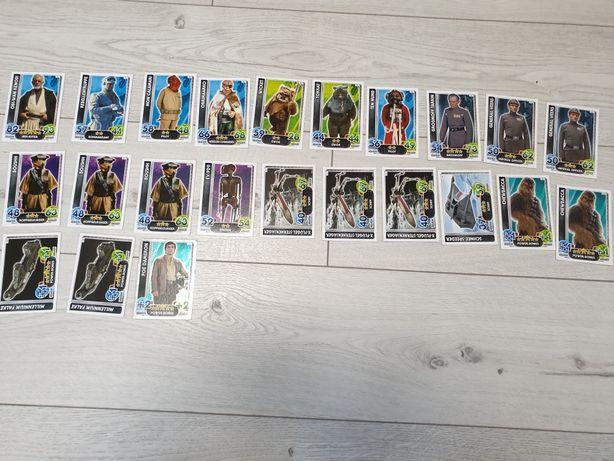 Karty Star Wars Force Attax edycja niemiecka