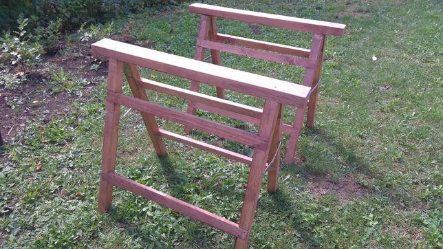 Koziołek drewniany kobyłka składana
