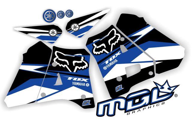 Kits gráficos autocolantes - Yamaha DTR 125   90-04