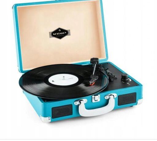 Przenośny gramofon Nostalgy Peggy Sue marki Auna