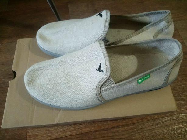 Мужские туфли-слипоны из конопли Jo Hemp