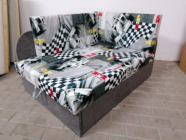 Nowe sofy dla dzieci dwie długości spania pojemnik na pościel Dostawa