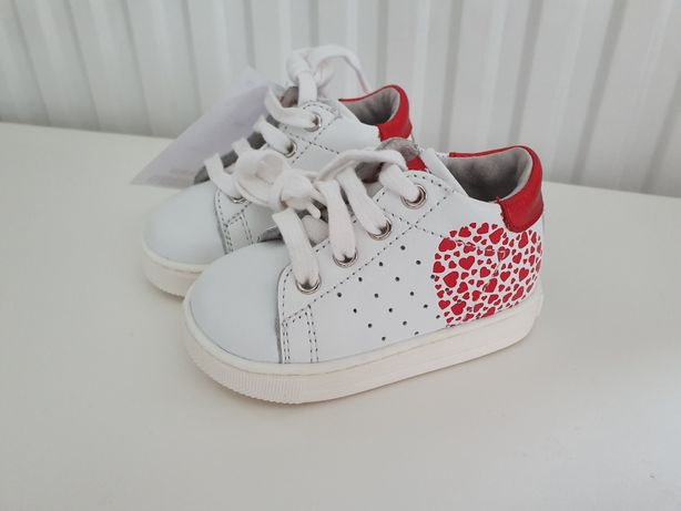 Buty trzewiki trampki sneakersy skórzane Falcotto r.18 - 11,5 cm nowe