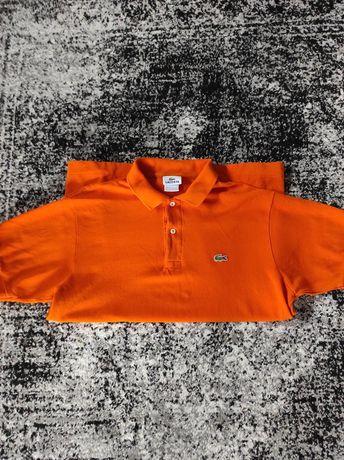 Polo Lacoste pomarańczowe