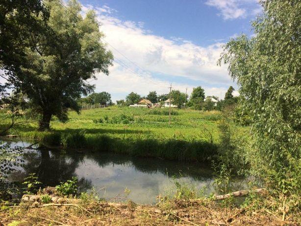 Свой жилой дом и участок 83 соток с выходом к реке с. Семенівка обухов