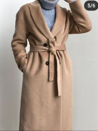 Новое пальто альпака Brunello Cucinelli Peserico Италия оригинал