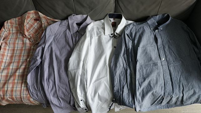 Koszule i swetry męskie rozmiar M i L