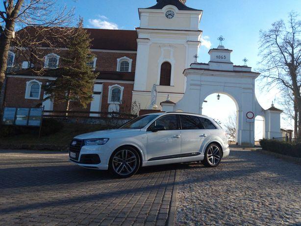 Auto do ślubu AUDI SQ7 V8T