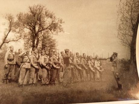 Zdjęcia polskie Wojsko Polskie WP LWP b.wczesne l.40ste XXw. Zbiór