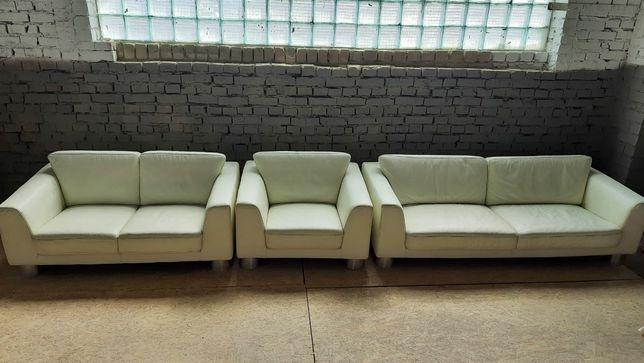 Шкіряний диван 3+2+1. Кожаний диван 3+2+1. Кожаний комплект.