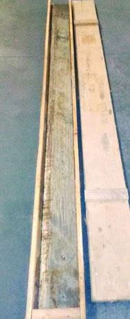 Lamina para Guilhotina 2650 x 145 x 12 semi-nova
