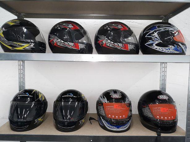 НОВЫЕ МОТОШЛЕМЫ, шлем для скутера / мотоцикла M1. Доставка по Украине