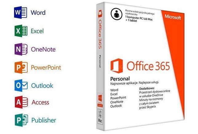 Microsoft Office 365 Pro - Licencja dożywotnia