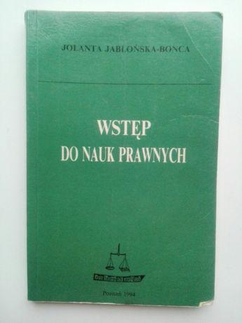 Wstęp do Nauk Prawnych Jabłońska - Bonca