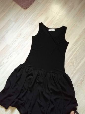 Sukienka elegancka, czarna 40