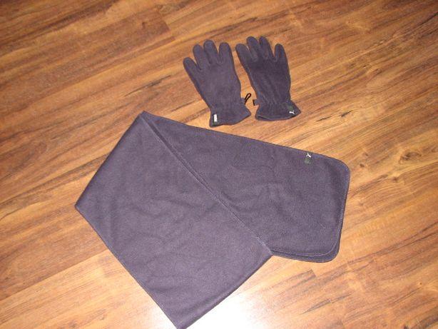 PUMA super komplet szalik + rękawiczki jak nowy