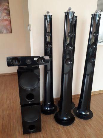 Głośniki LG od kina domowego Real 3D Sound w wersji 7.1